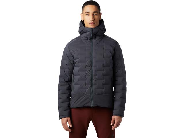 Mountain Hardwear Super/DS Climb Veste Homme, dark storm